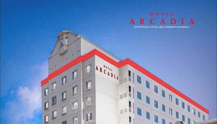 Hotel Arcadia Surabaya - Gedung hotel
