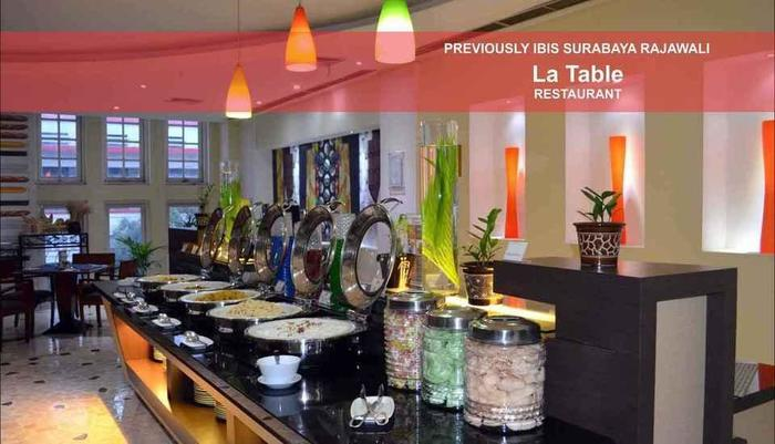 Arcadia Surabaya Hotel Surabaya - prasmanan