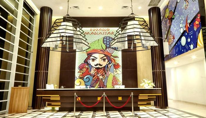MaxOneHotels at Resort Delia Makassar - Lobi