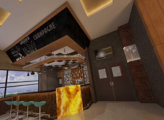 LA'RIZ Wthree Lagaligo Makassar - Bar