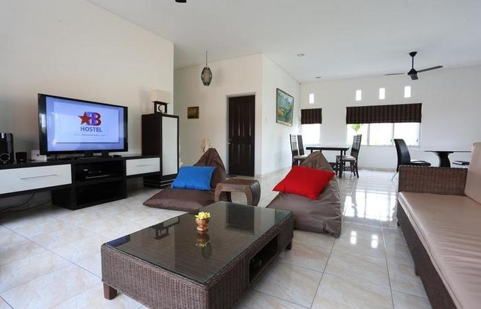 BB Hostel Bali - Ruang tamu