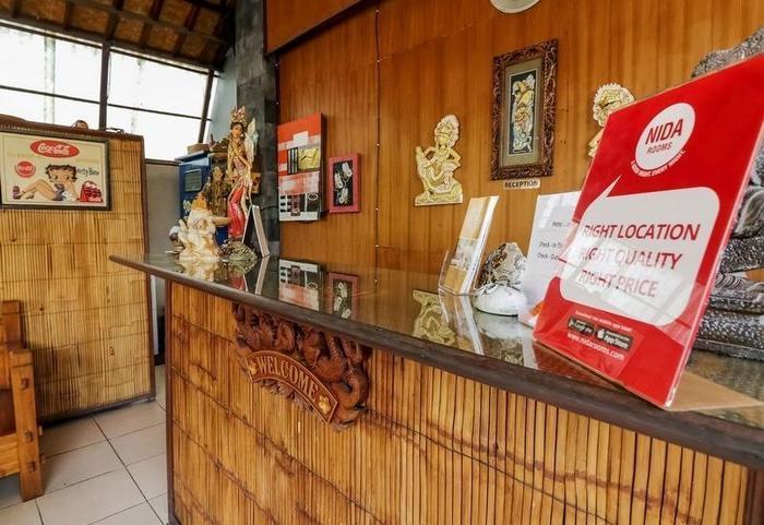 NIDA Rooms Kubu Anyar 27 Legian Bali - Resepsionis
