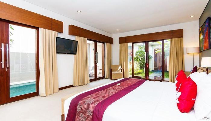 ZEN Premium Umalas Bumbak Villa Bali - Tempat Tidur Double