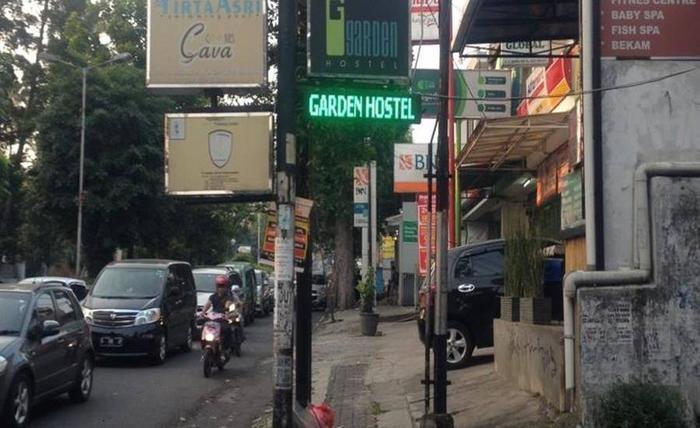 Garden Hostel Dago Bandung Bandung - Eksterior
