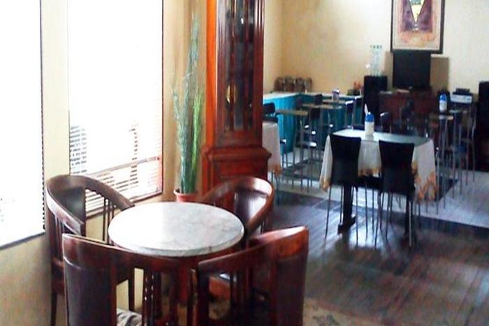 Hotel Djagalan Raya Surabaya - Ruang tamu