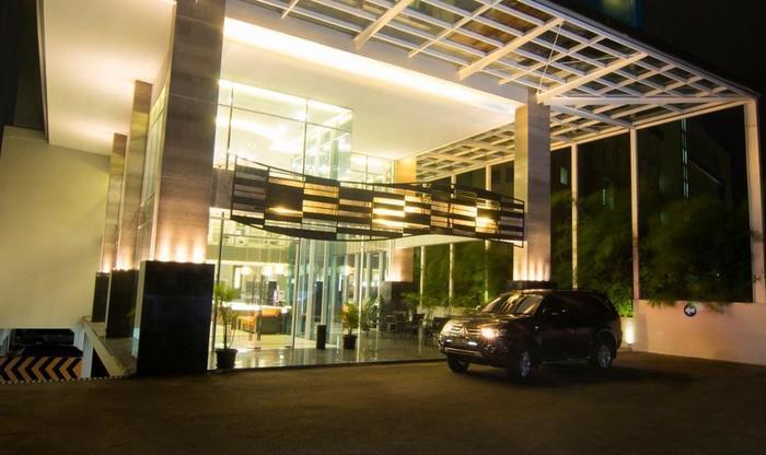 Hotel 88 Kopo Bandung - enterance