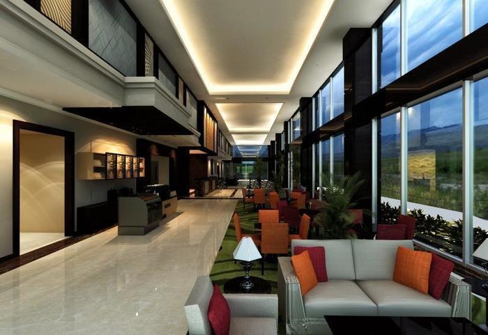 Hotel Aria Centra Surabaya Surabaya - Lounge Lobi Duplex