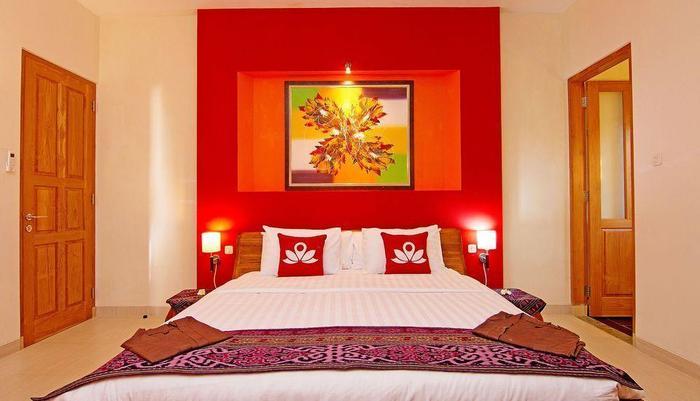 ZenRooms Lovina Ocean View Bali - Tampak tempat tidur double