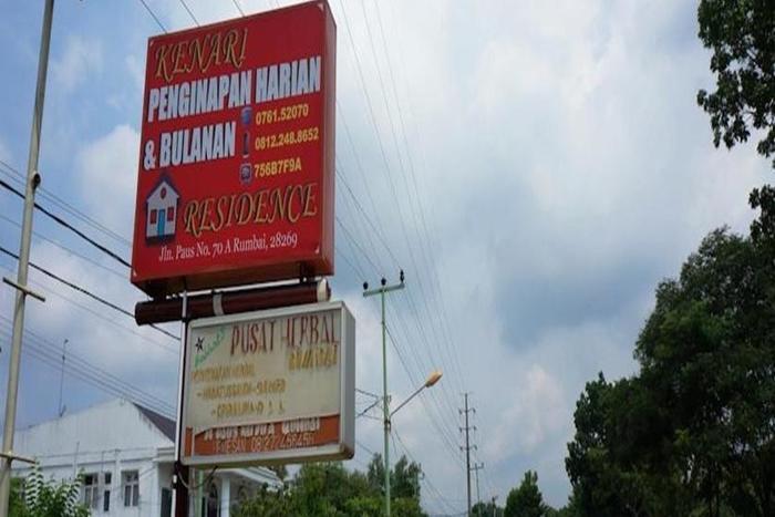 Kenari Residence Pekanbaru - Tampilan Luar Hotel