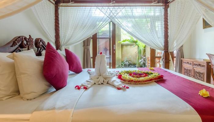 Chili Ubud Cottage Bali - satu tempat tidur poll villa