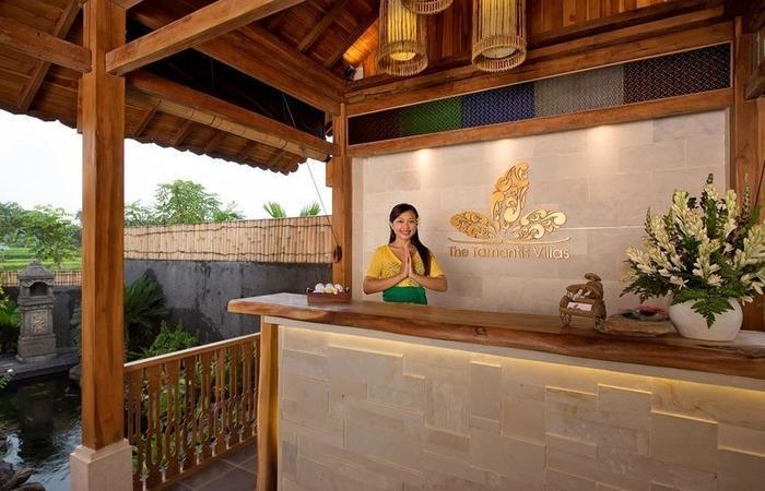 The Tamantis Villas Bali - Resepsionis