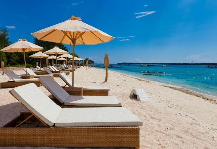 Pearl of Trawangan Resort Lombok - Pemandangan