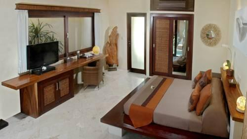 Pearl of Trawangan Resort Lombok - Kamar tamu