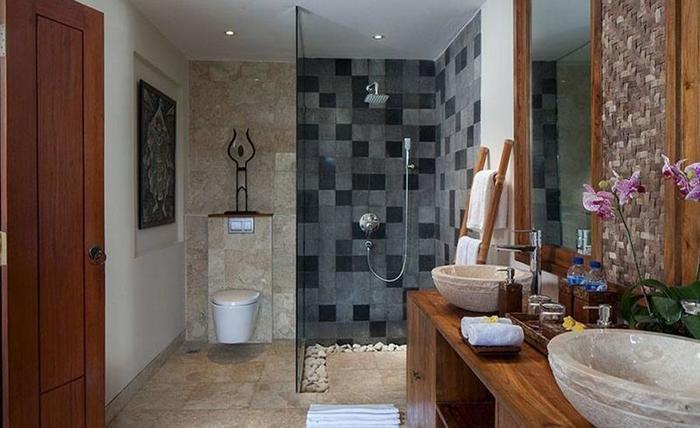 Jannata Resort & Spa Ubud - Kamar mandi