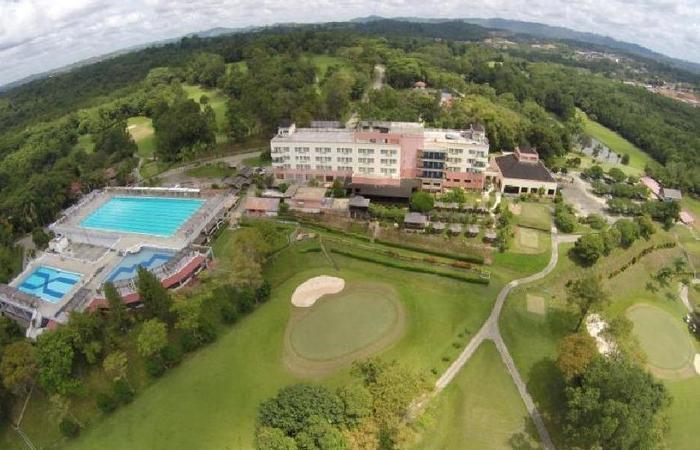 Hotel Bintang Sintuk Bontang - pemandangan dari atas