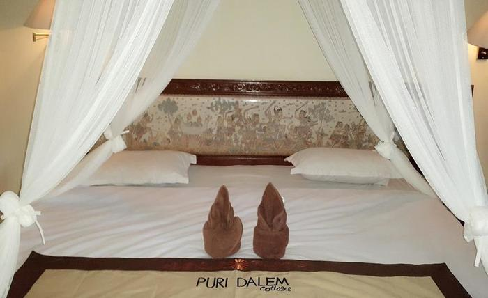 Puri Dalem Cottage Ubud - Double Bed