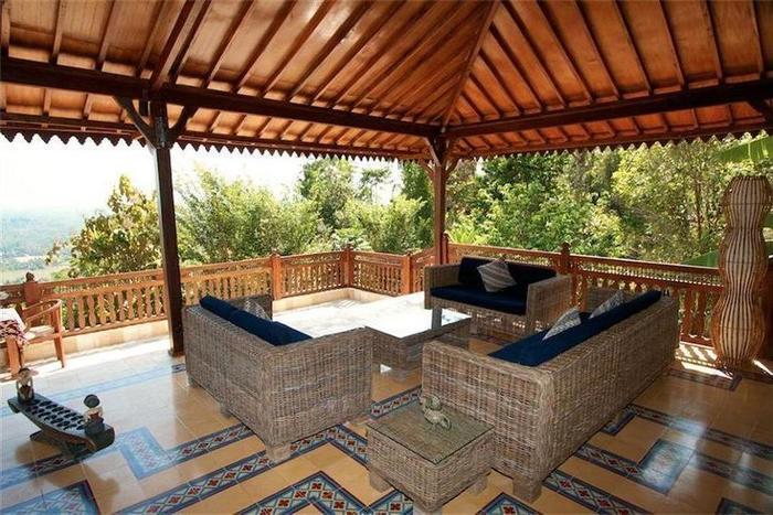 Villa Borobudur Magelang - Living Room