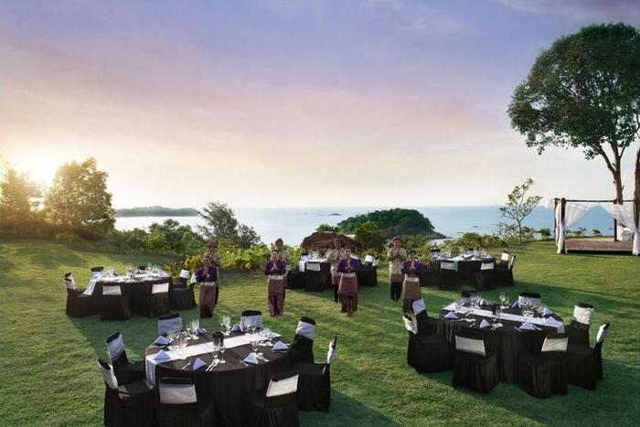 Banyan Tree Bintan - Outdoor Banquet Area