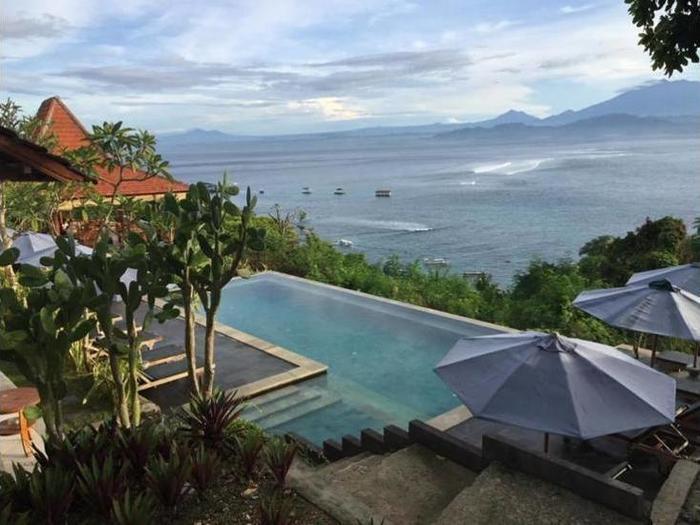 Lembongan Cliff Villas Bali - Bathroom