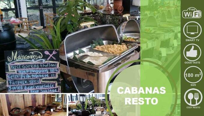 Hotel Patra Jasa jakarta - CABANAS RESTO