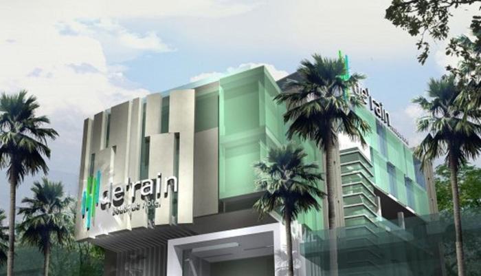 De Rain Hotel  Bandung - Building