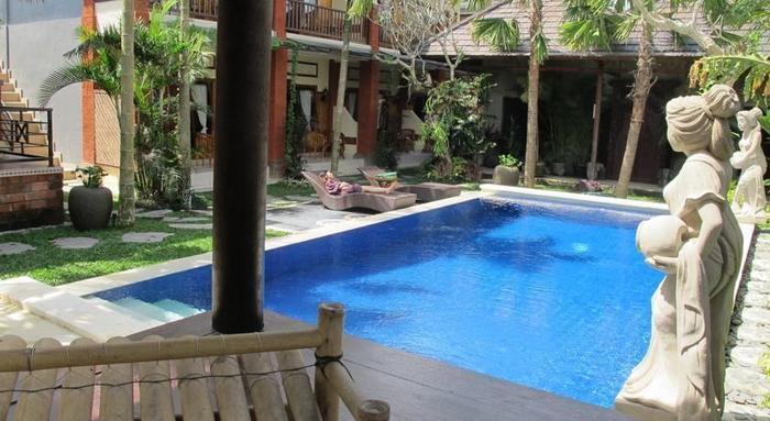 Bisma Sari Resort Ubud - Kolam Renang