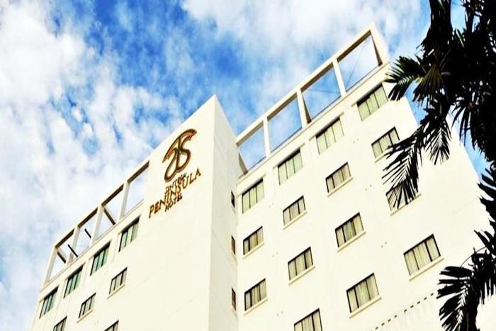 Sintesa Peninsula Palembang - Tampilan Luar Hotel