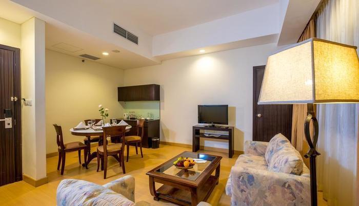 Sintesa Peninsula Palembang - Suite tamu