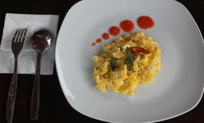Ndalem Mantrijeron Hotel Yogyakarta - Telur Scrambled
