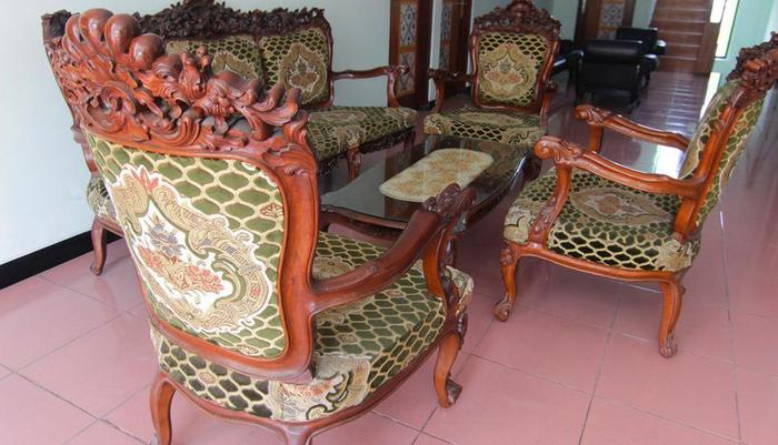 Ndalem Mantrijeron Hotel Yogyakarta - Ruang Tamu