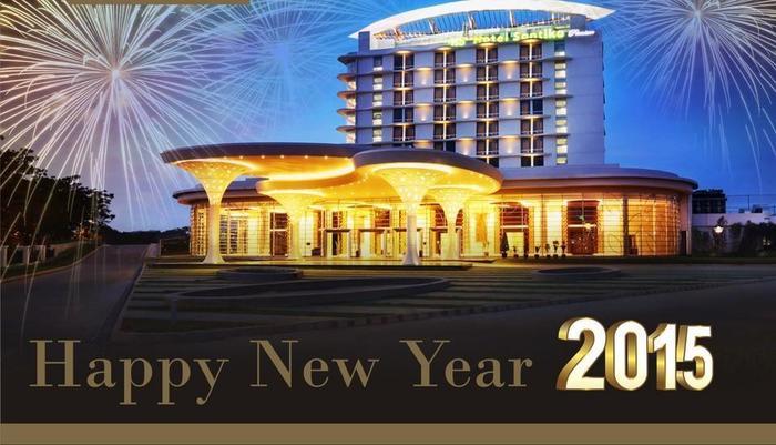 Hotel Santika Premiere Bekasi - Happy New Year 2015