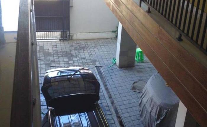 D Abian Luxury Homestay Bali - Area parkir