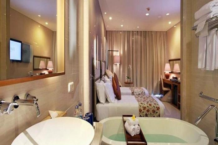 Vouk Hotel and Suite Bali - Kamar mandi