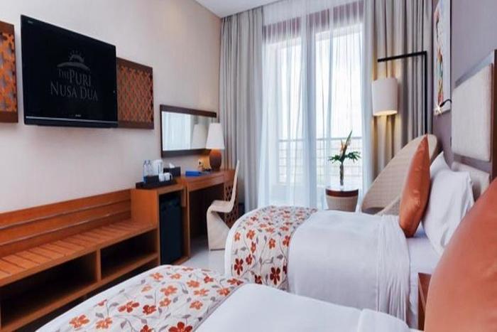 Vouk Hotel and Suite Bali - Kamar tamu
