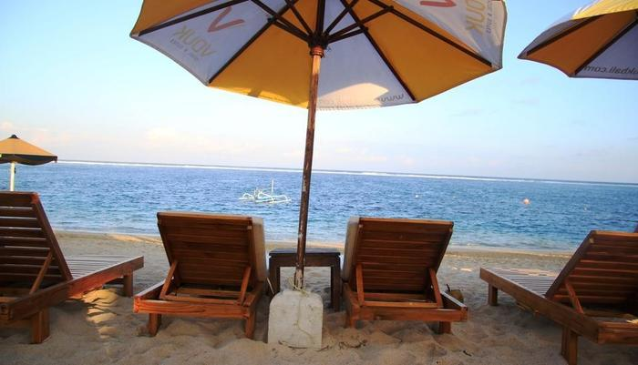 Vouk Hotel and Suite Bali - Beach Club