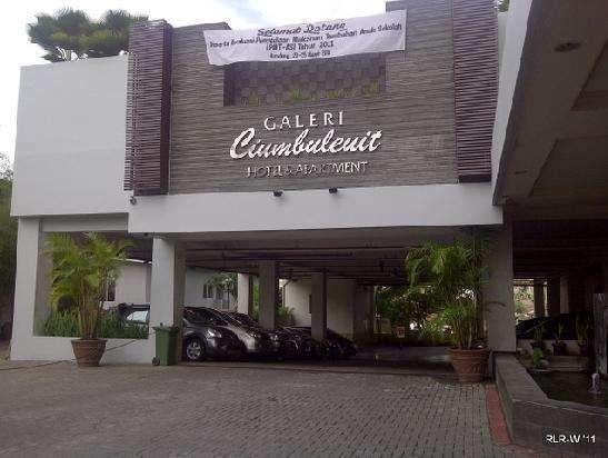 Galeri Ciumbuleuit Hotel Bandung - Exterior