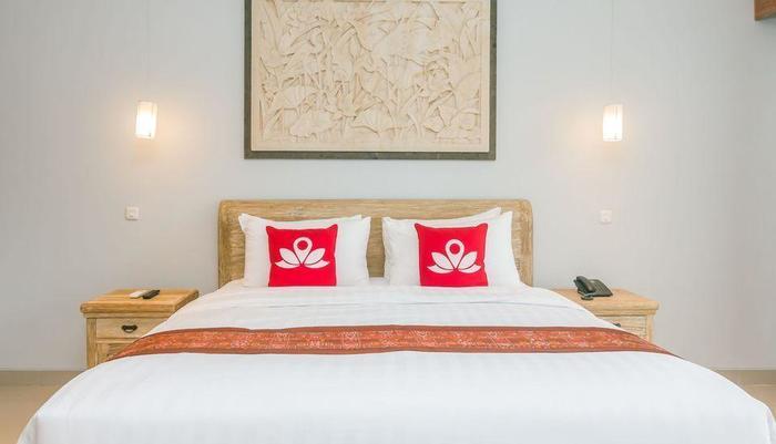 ZenRooms Ubud Jembawan - Tampak tempat tidur double
