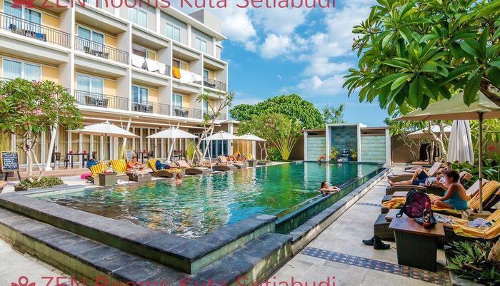 ZenRooms Kuta Setiabudi Bali - Kolam Renang