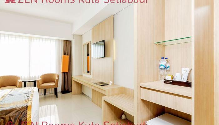 ZenRooms Kuta Setiabudi Bali - Fasilitas Kamar