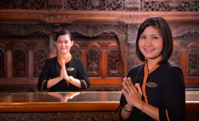 Patra Jasa Semarang Convention Hotel Semarang - Keramahan staff
