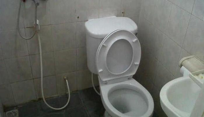 Permata Guest House Semarang - Kamar mandi