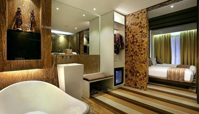 Mega Boutique Hotel and Spa Bali - Kamar mandi