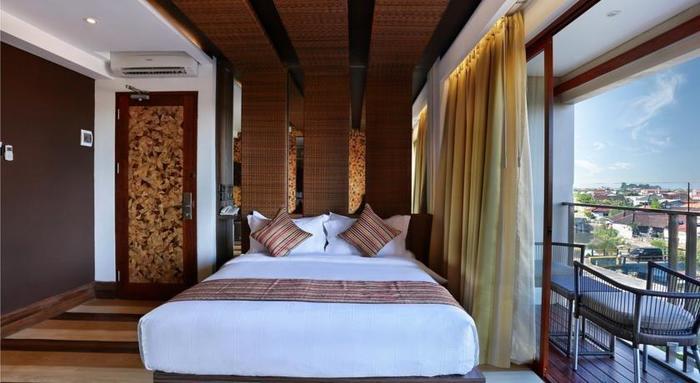Mega Boutique Hotel and Spa Bali - Kamar tamu