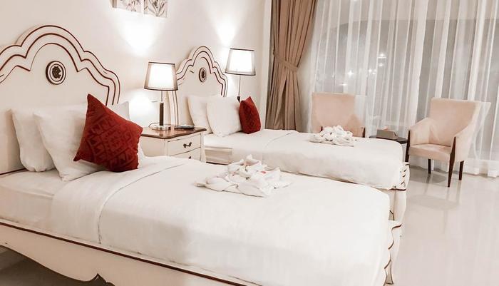 Graha Ayu Hotel Lombok - Kamar Suite Twin