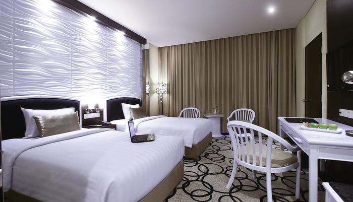Hotel New Saphir Yogyakarta - Deluxe Tempat Tidur Twin