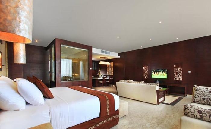 Ulu Segara Luxury Suite & Villas Bali - Kamar tamu