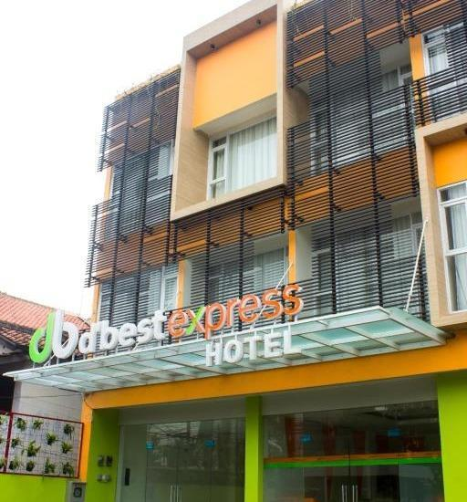 Dbest Express Hotel Bandung - bangunan