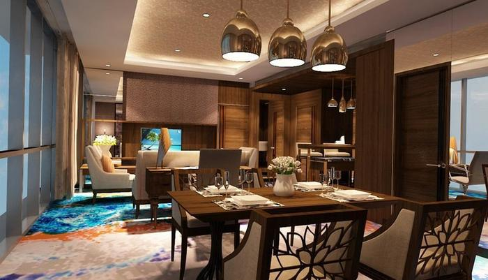 Aston Pasteur Bandung - Presidential Suite - Dining Area