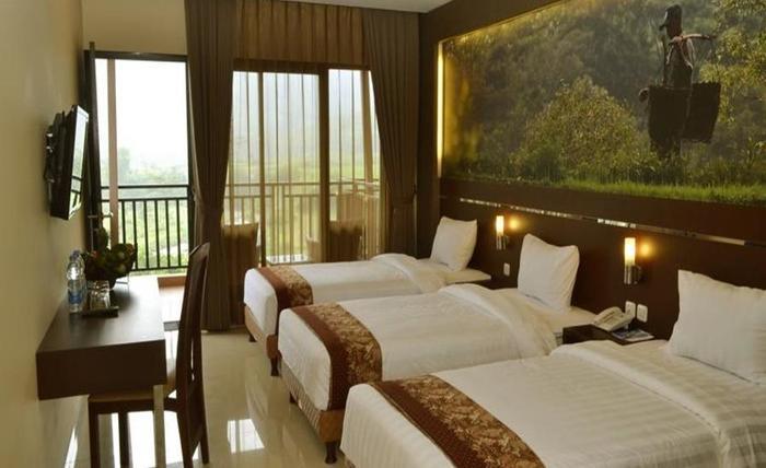 Bess Resort & Waterpark Lawang - Ukuran ruangan adalah 28m 2
