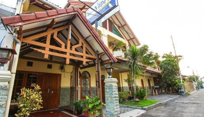 Vidi 2 Hotel Yogyakarta - Penampakan hotel vidi 2 dari luar